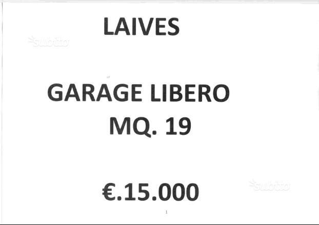 garage in vendita - laives