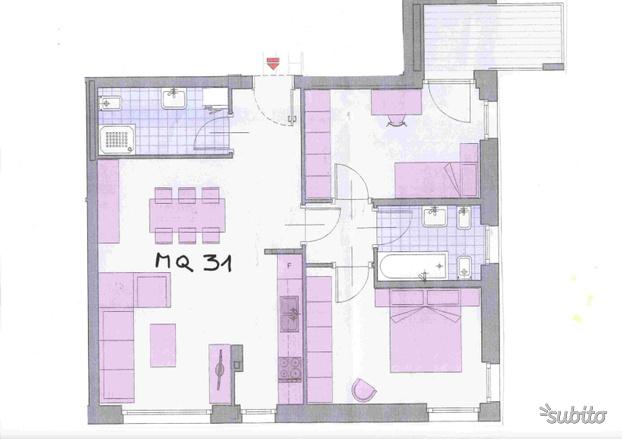 attico in vendita - laives